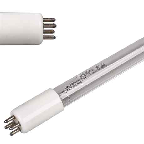 UVC Erastzlampe 4 Pin Sockel weiss G5 T5 30 Watt Leistung