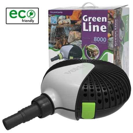 VELDA Green Line 8000 Teichpumpe mit 70 Watt 126596