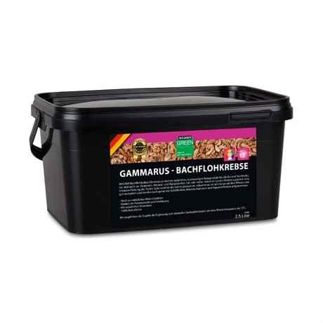 getrocknete Gammarus Einzelfuttermittel für Koi und Teichfische 2,5 Liter Eimer