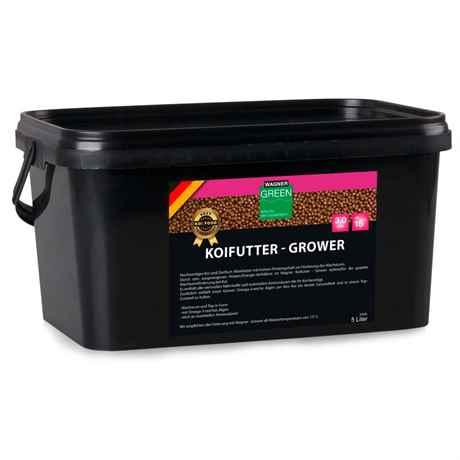 WAGNER Koifutter Grower 5 Liter 3 mm ab 15 Grad