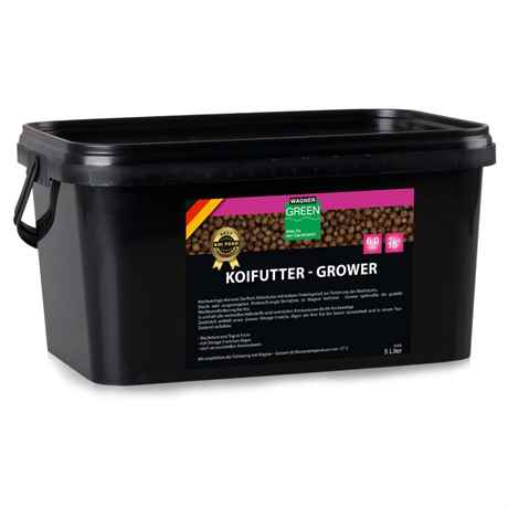WAGNER Koifutter Grower 5 Liter 6 mm ab 15 Grad