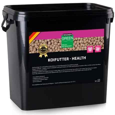 Wagner Koifutter Health 10 Liter 6 mm ab 10 Grad