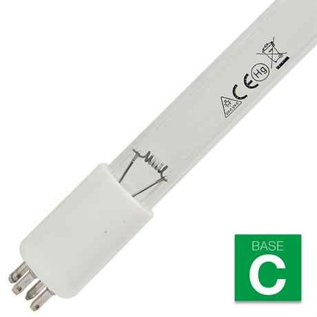 Amalgam UVC Leutmittel 40 Watt mit Sockel BASE C