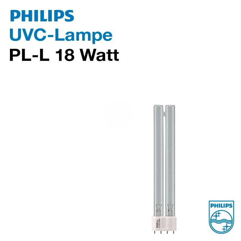 philips uvc pll lampe 18 watt pl l sockel 2g11 ab 9 79 kaufen bei teichpoint. Black Bedroom Furniture Sets. Home Design Ideas