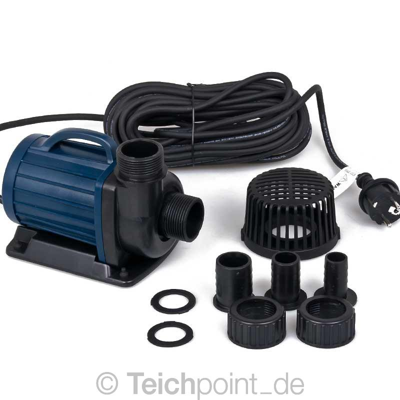 Teichpumpe aquaforte dm serie koi teich filter pumpe for Filtro x laghetto