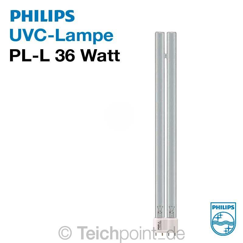 philips uvc ersatzlampe pl l uv c leuchtmittel r hre lampe brenner koi teich ebay. Black Bedroom Furniture Sets. Home Design Ideas
