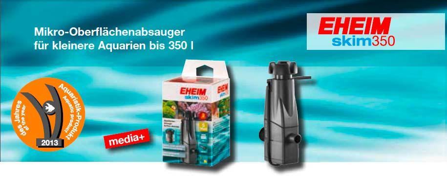 EHEIM skim350 Oberflächenskimmer für Aquarien