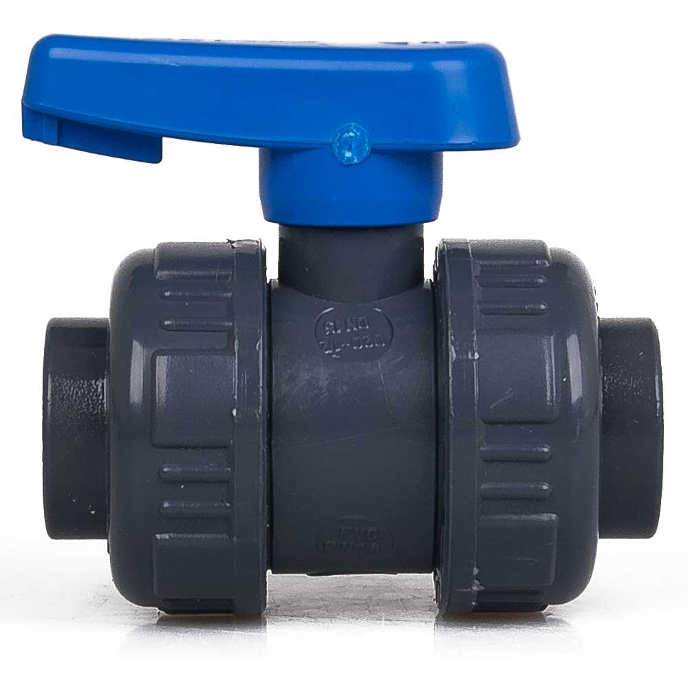 Effast pvc vanne à bille 16 mm étang filtre raccord robinet piscine aquarium Hahn