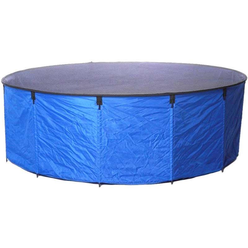 Flexi Bowl Faltbecken Set,+Tragetasche.Koiwanne-Becken von 90 cm bis 180 cm Ø