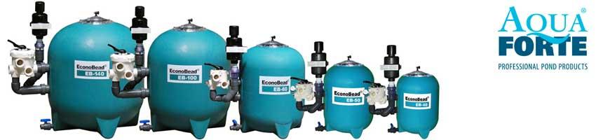 econbead beadfilter-serie von aquaforte